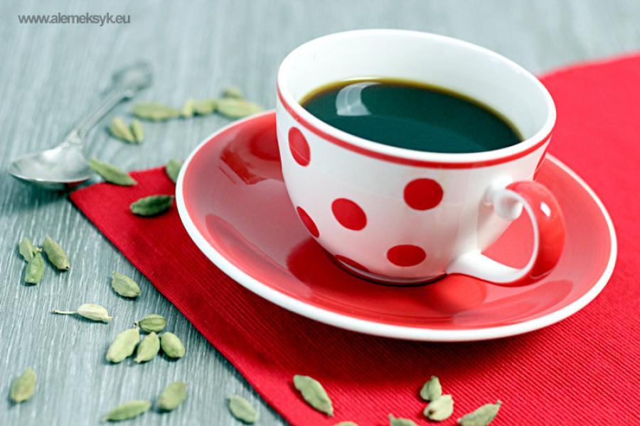Aromatyczna kawa z kardamonem