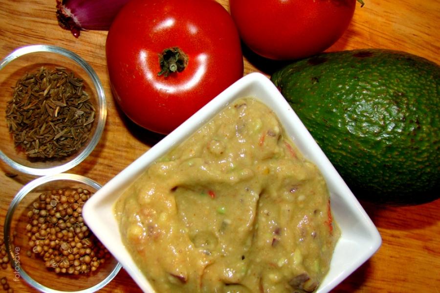 Szybkie guacamole