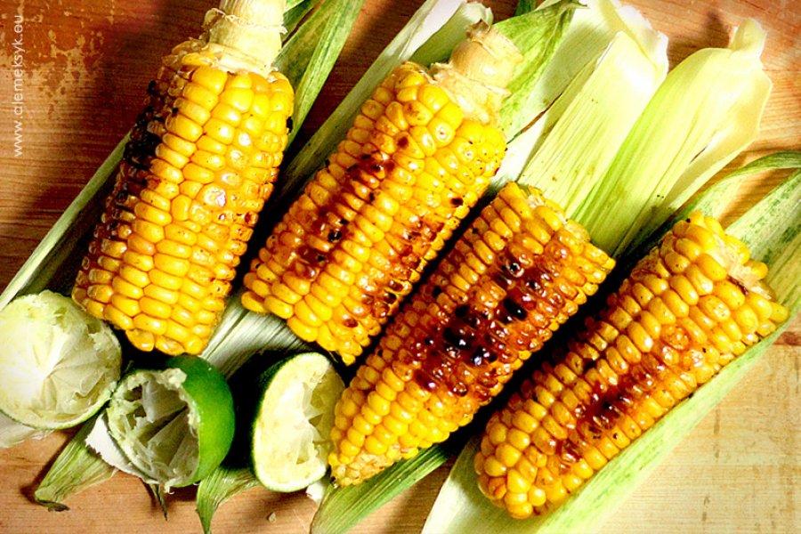 Grillowana kukurydza po meksykańsku