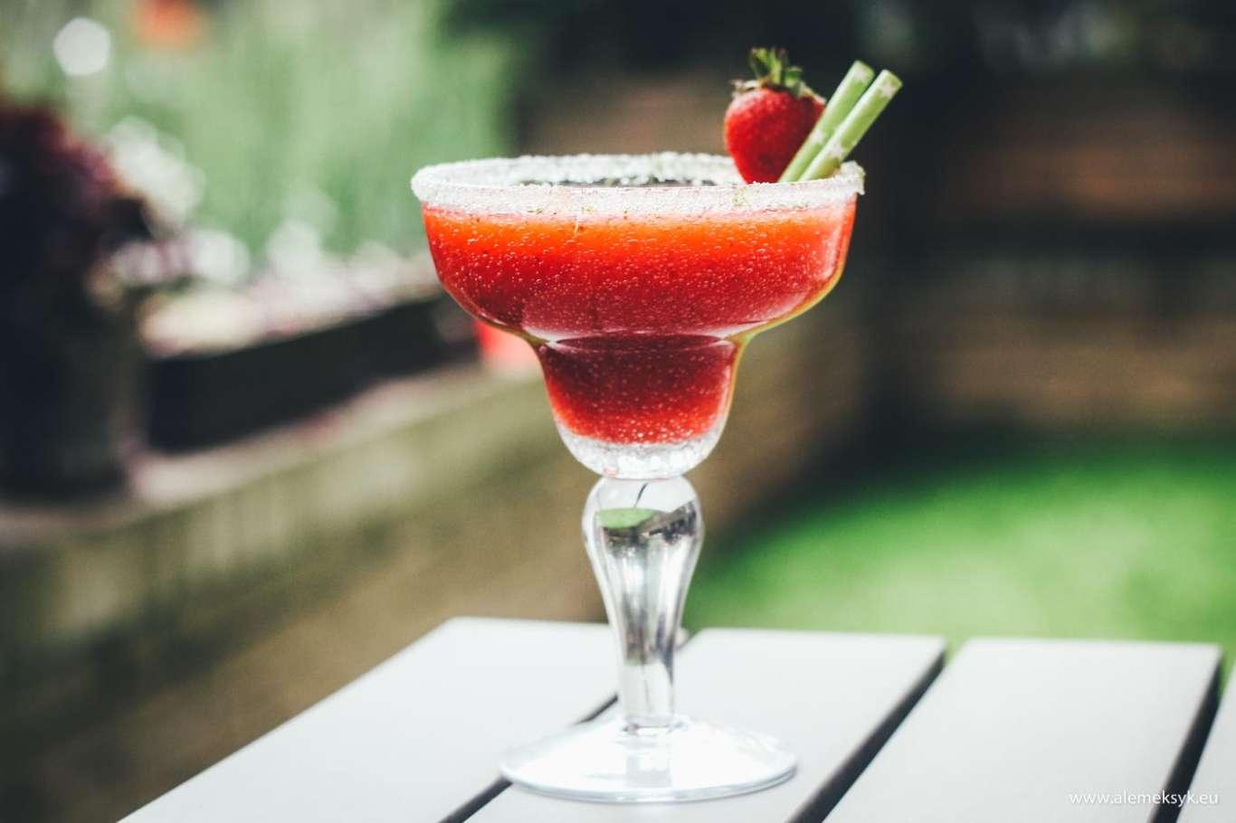 Margarita truskawkowa