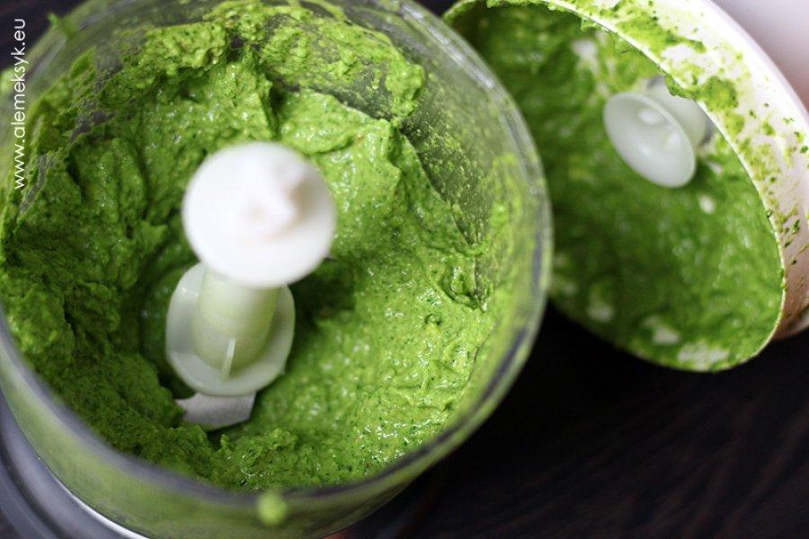 Zielone pesto z rukoli