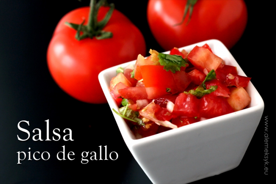 Salsa pomidorowa pico de gallo