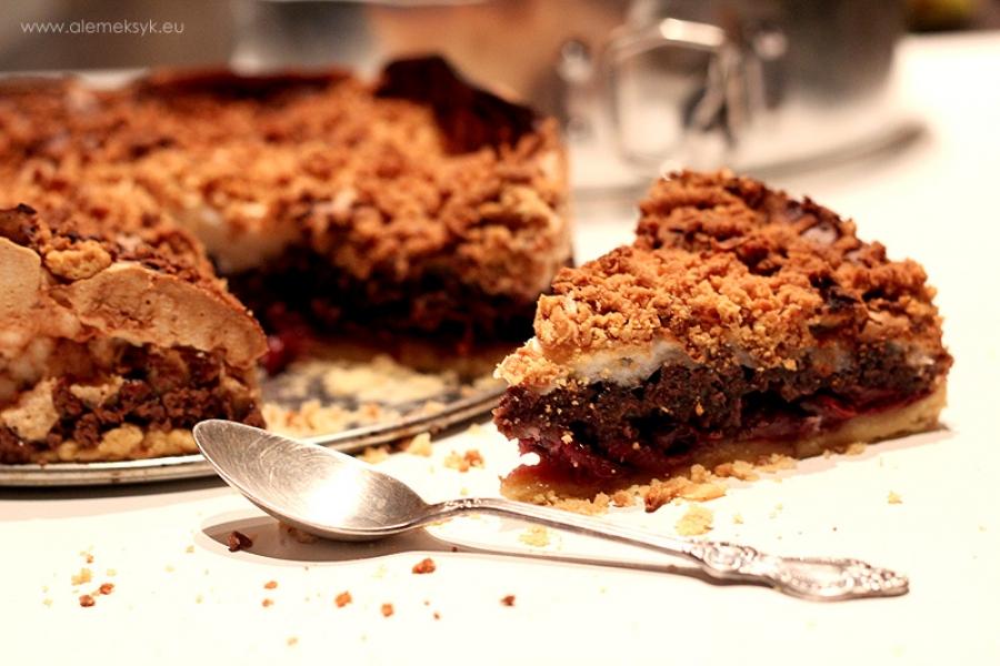 Ciasto królewskie czyli pleśniak z wisienkami