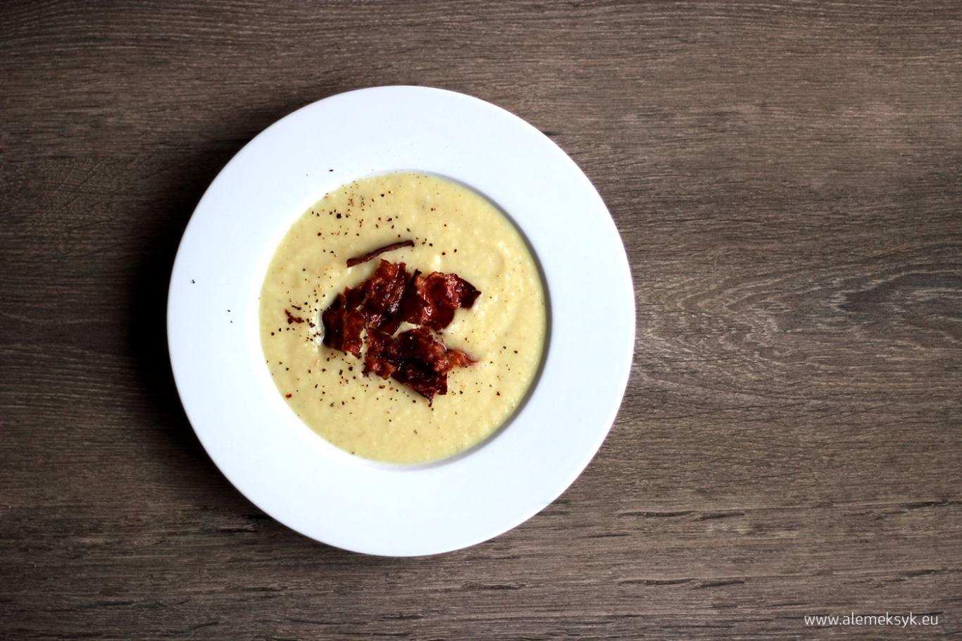 Zupa Krem Z Bialych Szparagow I Chipsy Z Boczku Blog Ale Meksyk