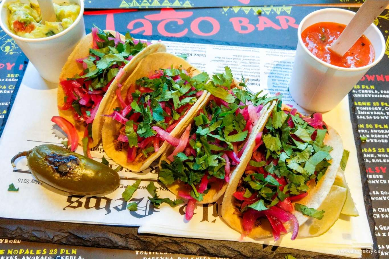 Taco Bar Na Warszawskiej Woli Miejsce Z Meksykanskim Smakiem Blog Ale Meksyk