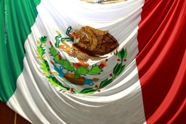 Dia de la bandera - Święto Flagi w Meksyku