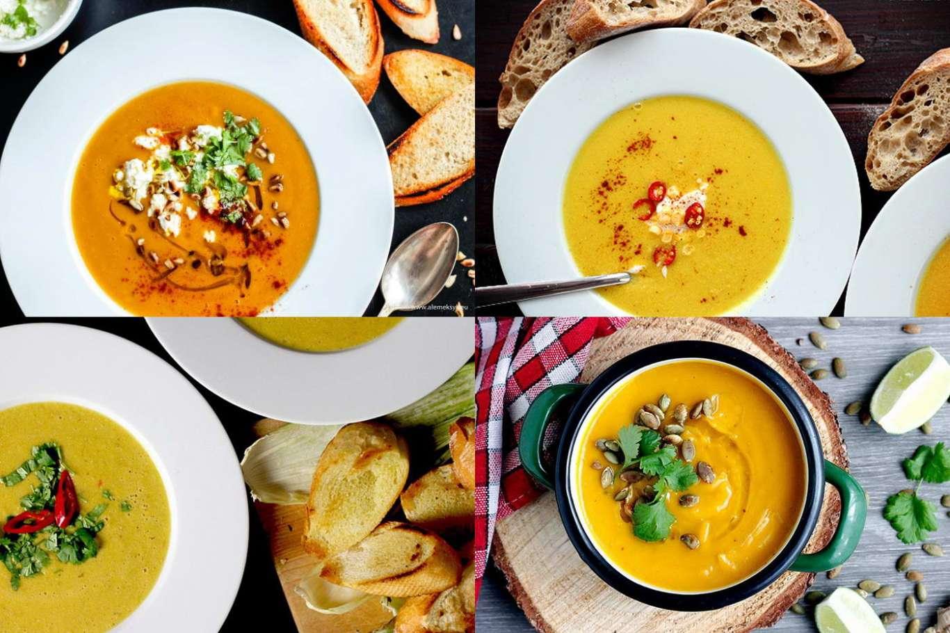 5 pomysłów na jesienne zupy i kremy - nasze najlepsze sezonowe przepisy