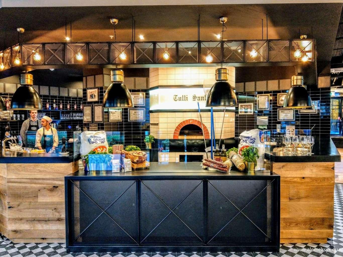 Włoska Restauracja Tutti Santi Pyszne Nowe Miejsce W