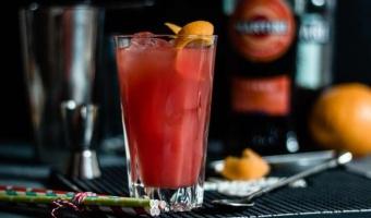 Martini Fiero i Campari - prosty i orzeźwiający drink na lato