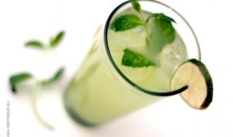 Agua fresca ogórkowa - meksykański napój orzeźwiający