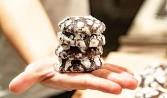Popękane ciastka meksykańskie - kakaowa rozpusta z nutą pikanterii