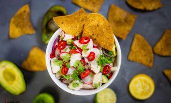 Ceviche z halibuta – aromatycznie, świeżo i przepysznie