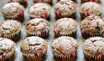 Jesienne muffinki czyli babeczki z pieczonej dyni