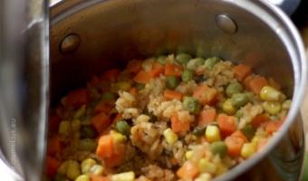 Arroz rojo - czerwony ryż