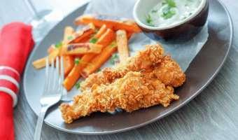 Nuggetsy z piekarnika - prosty i zdrowy przepis na piersi z kurczaka lub indyka