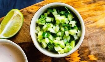 Pico de pepino - ogórkowa salsa niemalże do wszystkiego