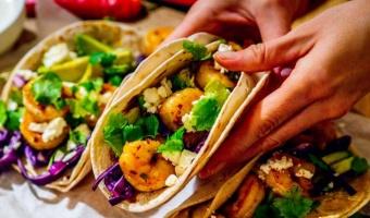 Tacos de camaron con chipotle mayo - czyli pikantne krewetki z obłędnym sosem majonezowym