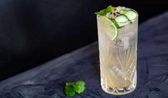 Tequila ze shrubem rabarbarowym - orzeźwiający drink na lato
