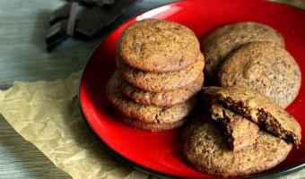 Chrupiące ciasteczka z kawałkami czekolady i nutą wanilii