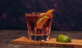 Drink Redberry Lemonade - wódka żurawinowa i lemoniada to zawsze dobre połączenie