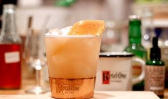 Ketel One Sour - drink na bazie wódki z nutą rabarbaru