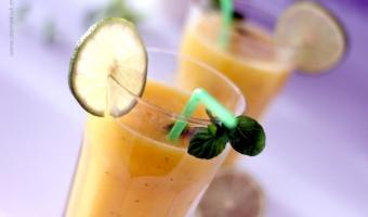 Agua fresca mango
