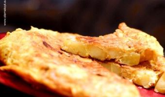 Tortilla hiszpańska czyli omlet z ziemniakami