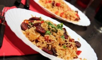 Ryż z chorizo